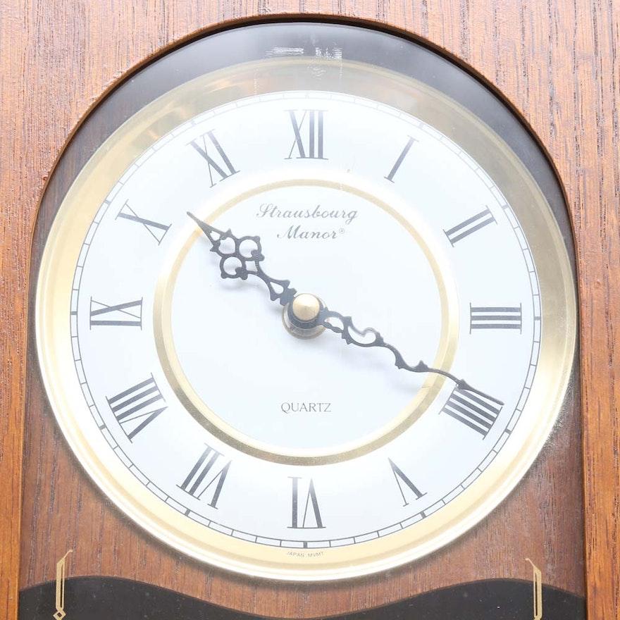 Strausbourg Manor Wall Clock Ebth