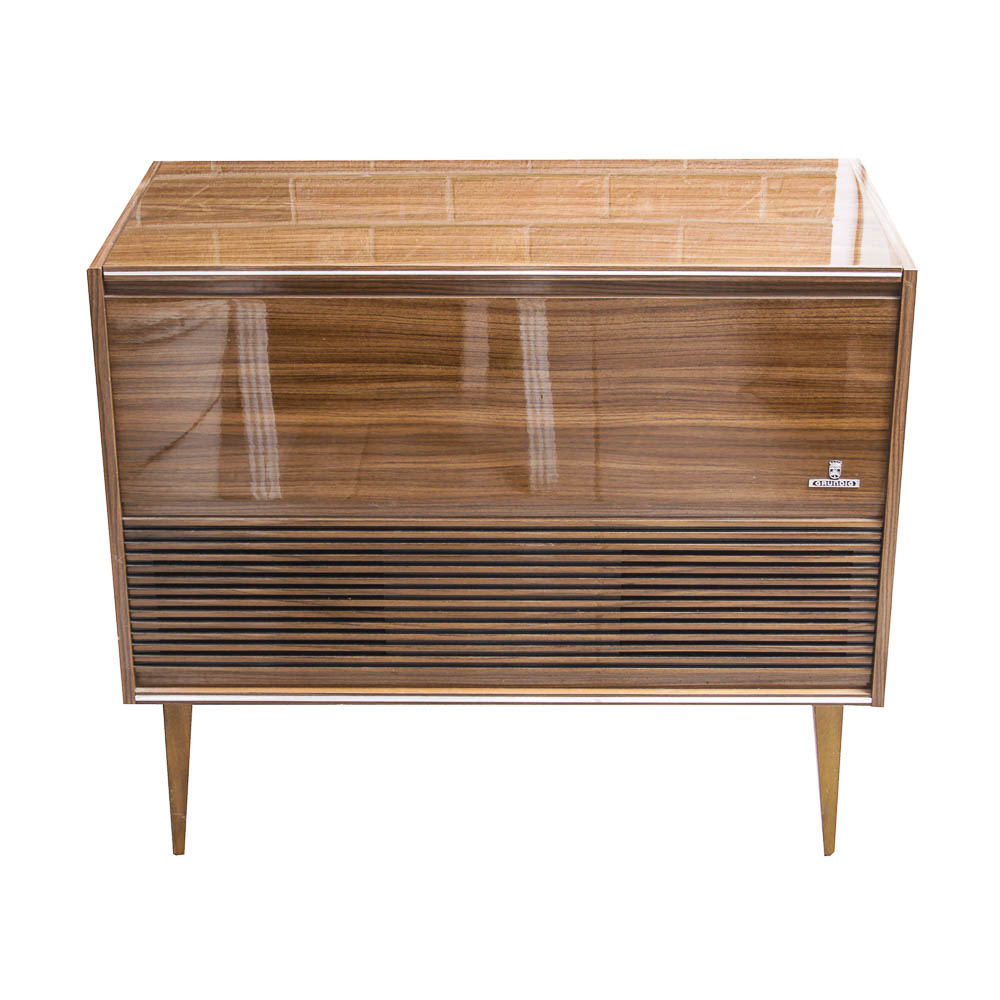Grundig Mid-Century Stereo Cabinet : EBTH
