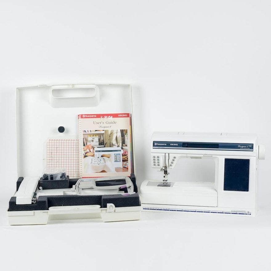 Viking Husqvarna Designer 1 Sewing Machine With Embroidery Machine