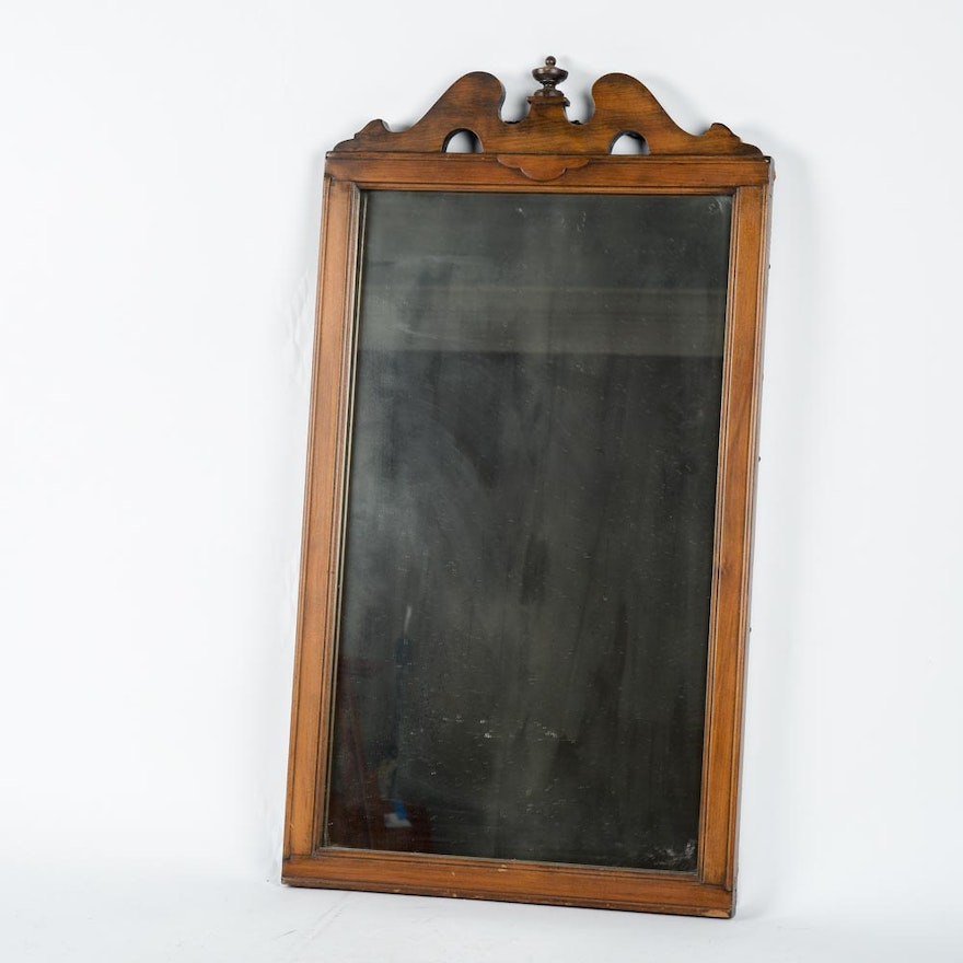 Vintage Federal Style Wall Mirror By Tomlinson Chair Mfg