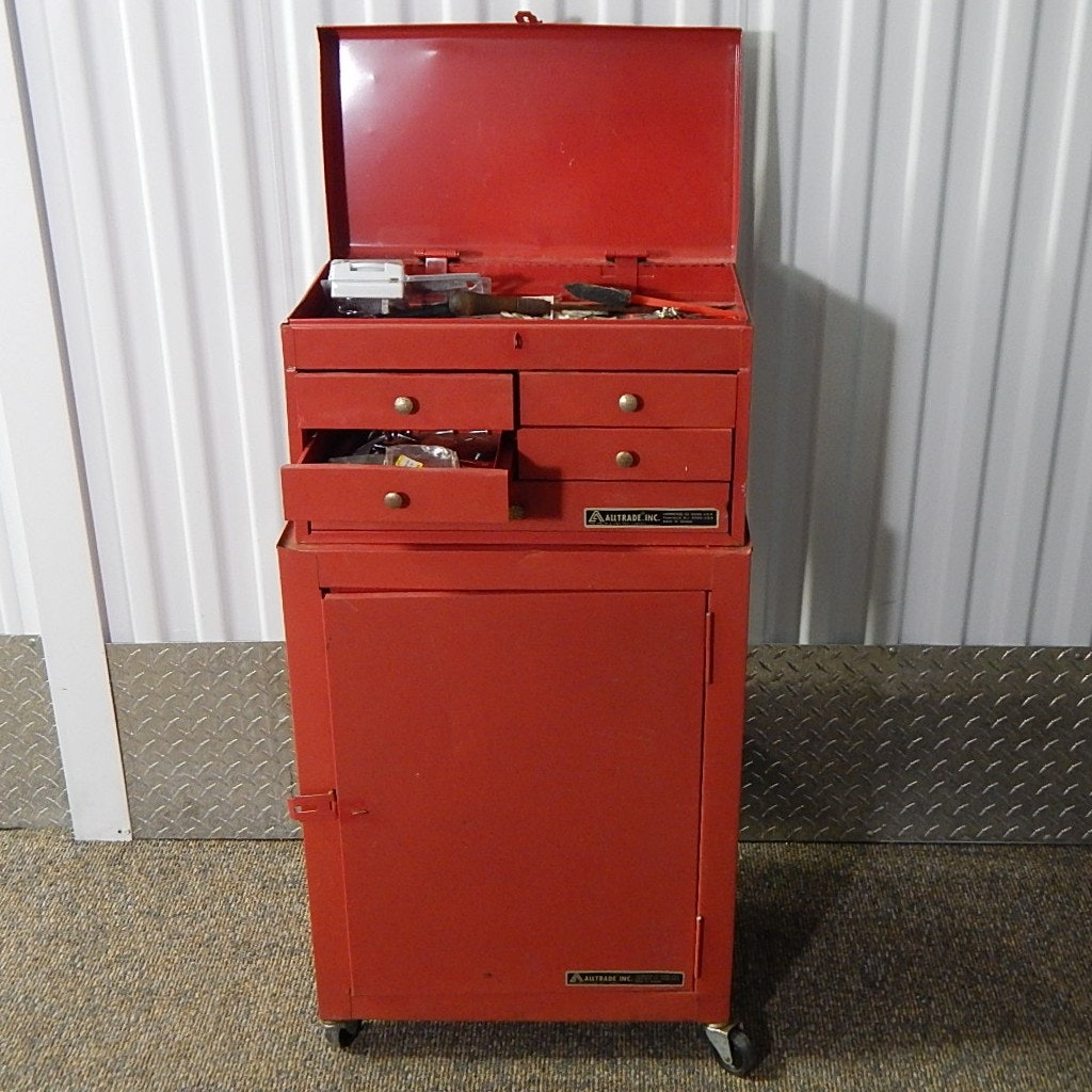 AllTrade Metal Tool Chest With Tools ...