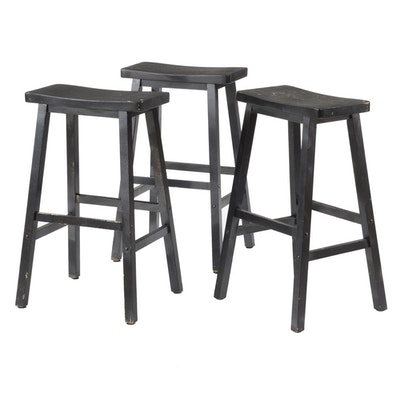 Three Bar Height Stools