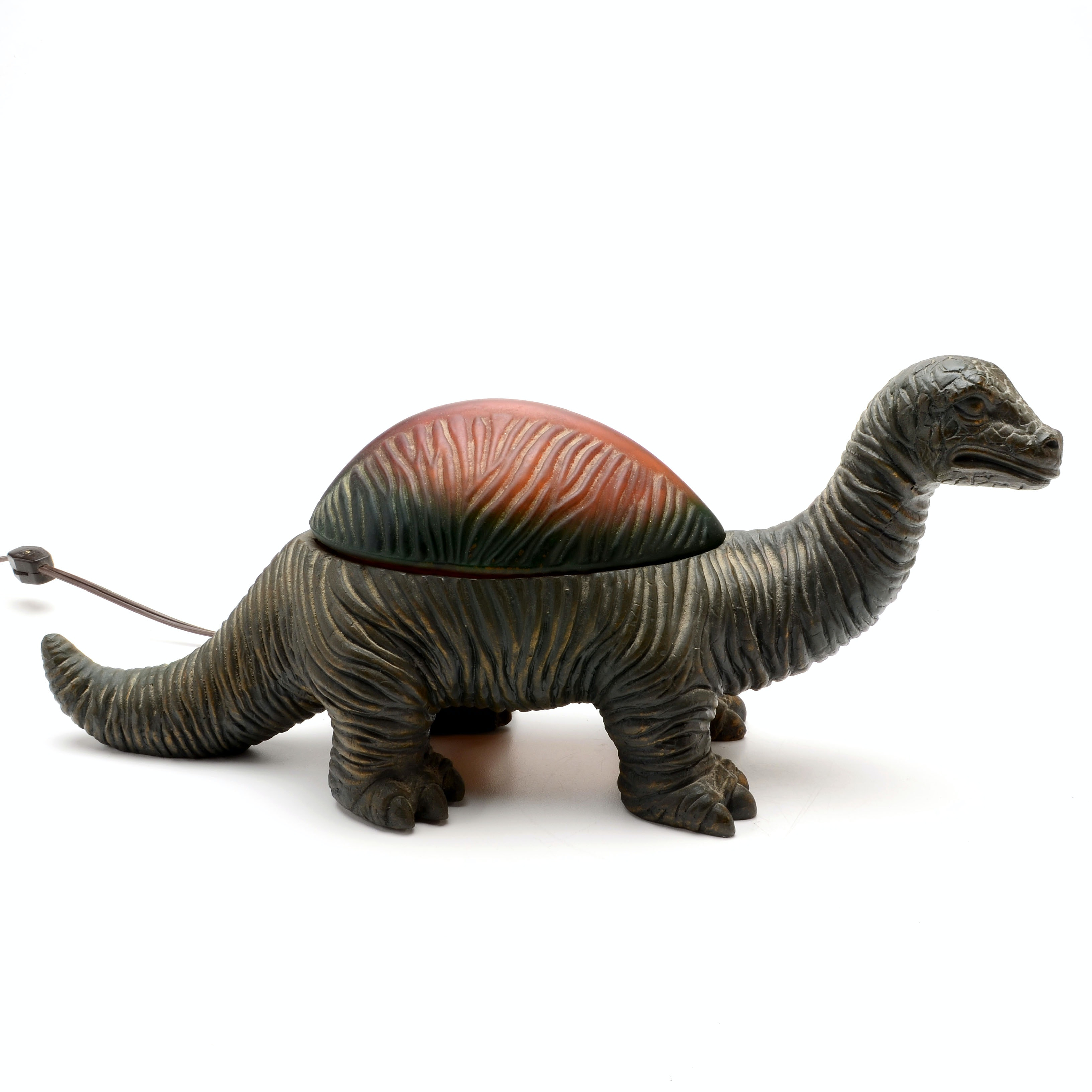 Vintage Dinosaur Lamp; 1x1 ...