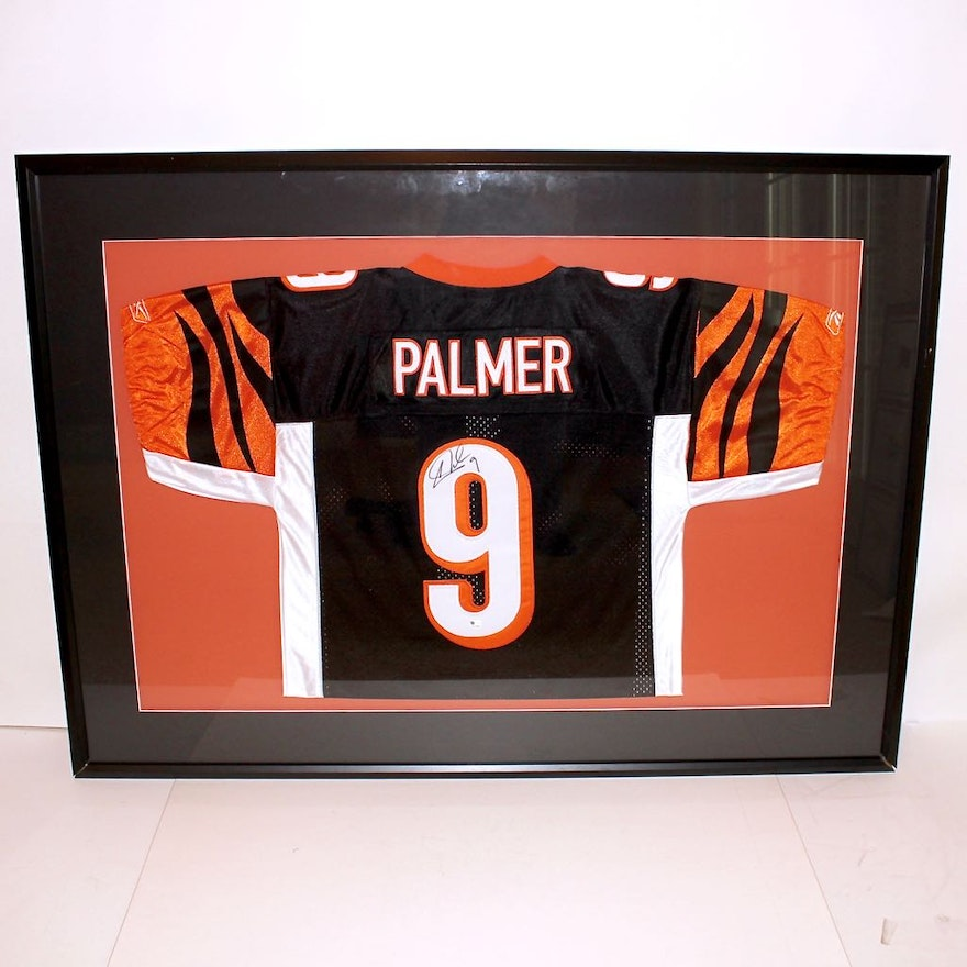 9c1abe0d9 Bengals Signed Carson Palmer Game Jersey   EBTH