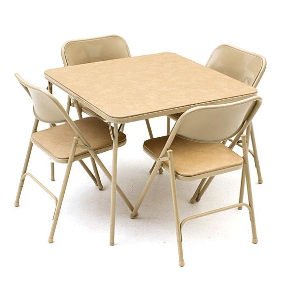 Samsonite Folding Table and Chairs EBTH