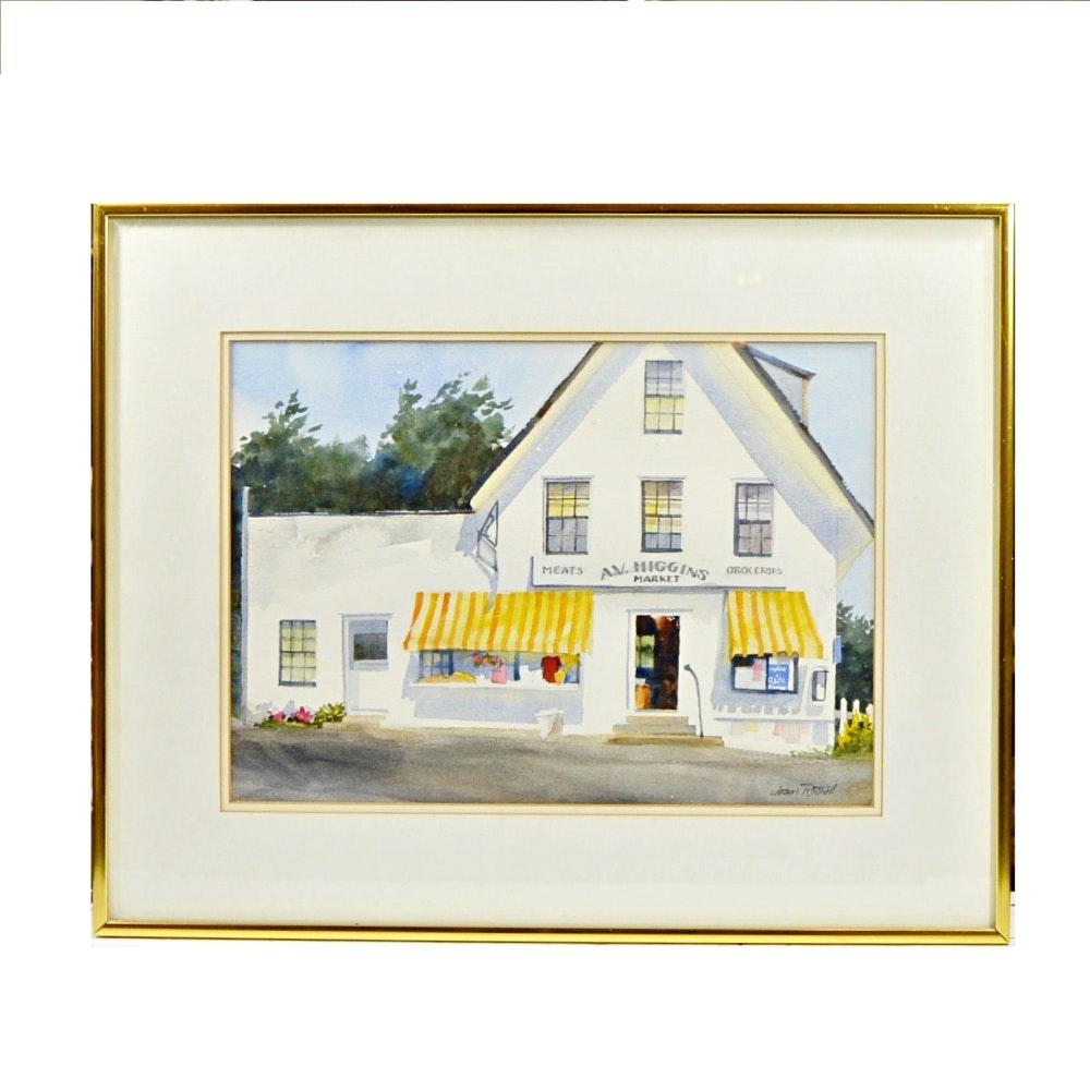 Joan Rothel Watercolor