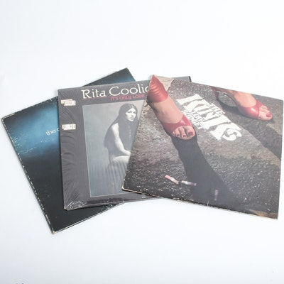 Kinks, Doors and Rita Coolidge LPs