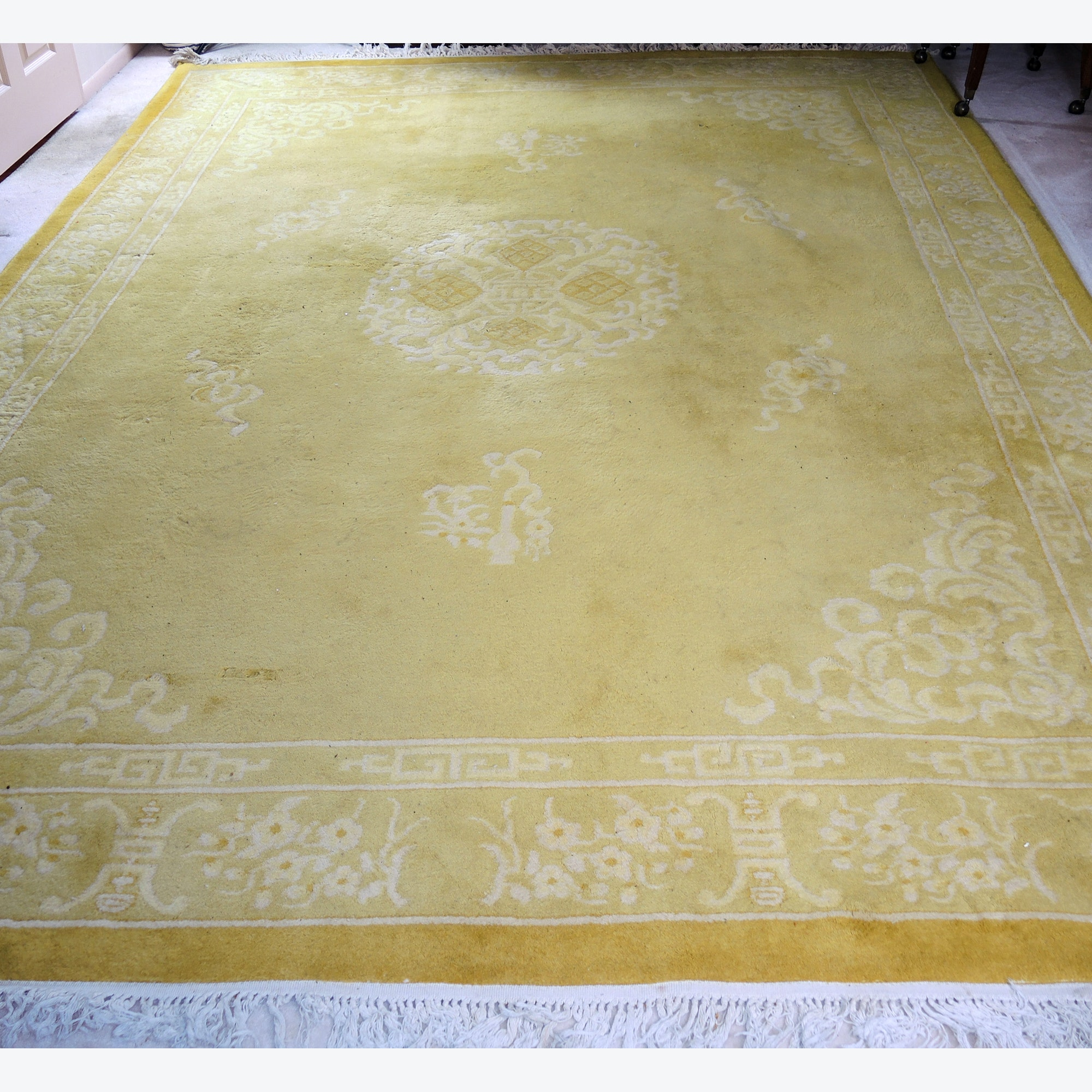 Power Loomed Chinese Area Rug