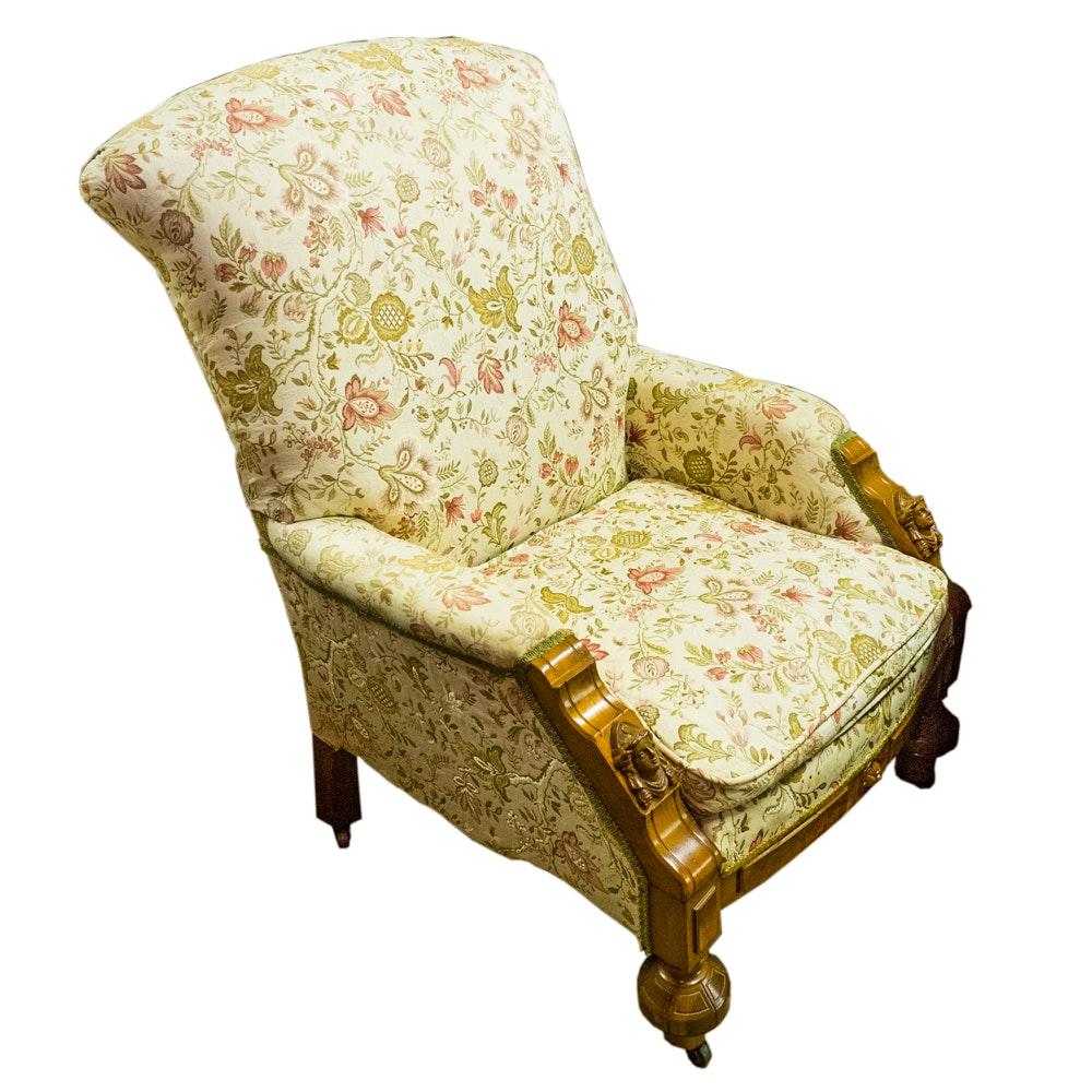 19th Century Renaissance Revival Armchair