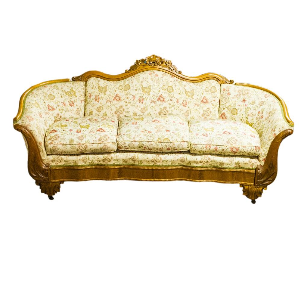 19th Century Rococo Revival Sofa