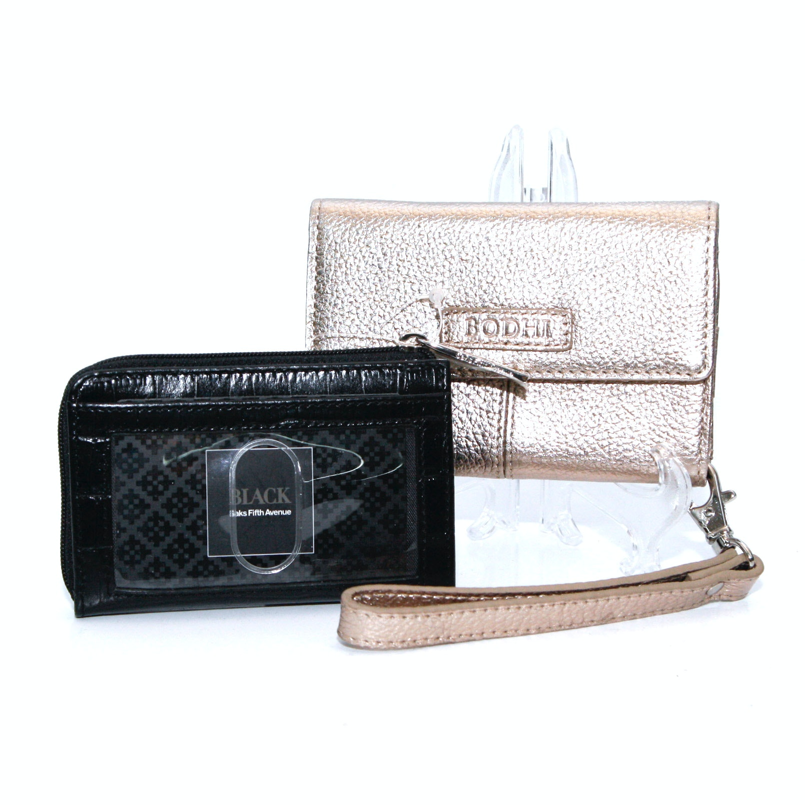 Saks Fifth Avenue and Bodhi Leather Coin Purses