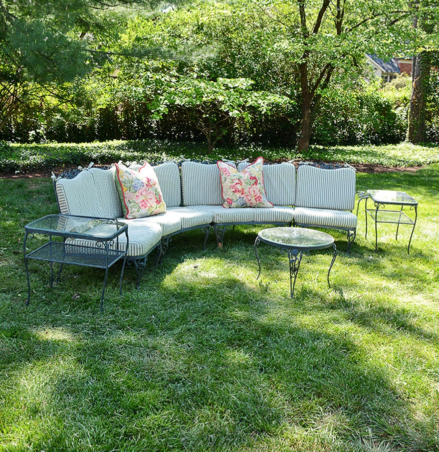 Woodard Chantilly Rose Patio Furniture With Brunschwig And Flis - Woodard patio furniture