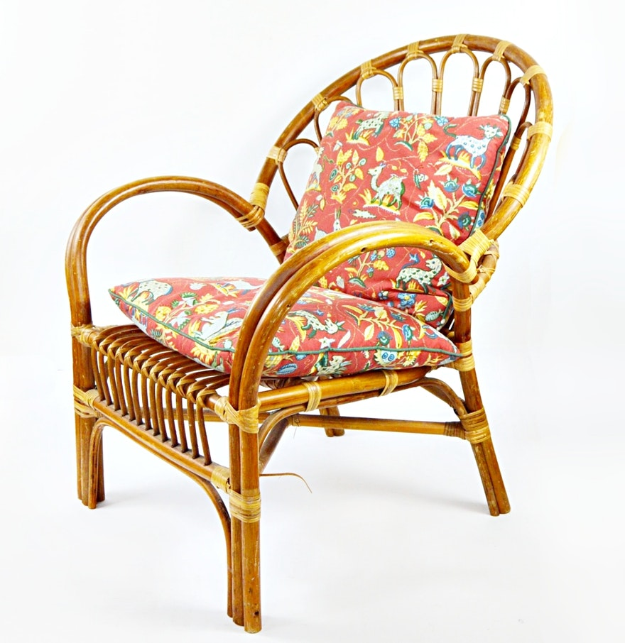 Vintage rattan chair - Vintage Rattan Chair