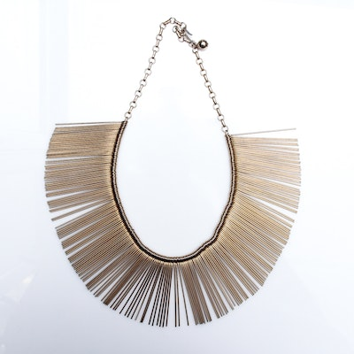 Mid-Century Collar Necklace