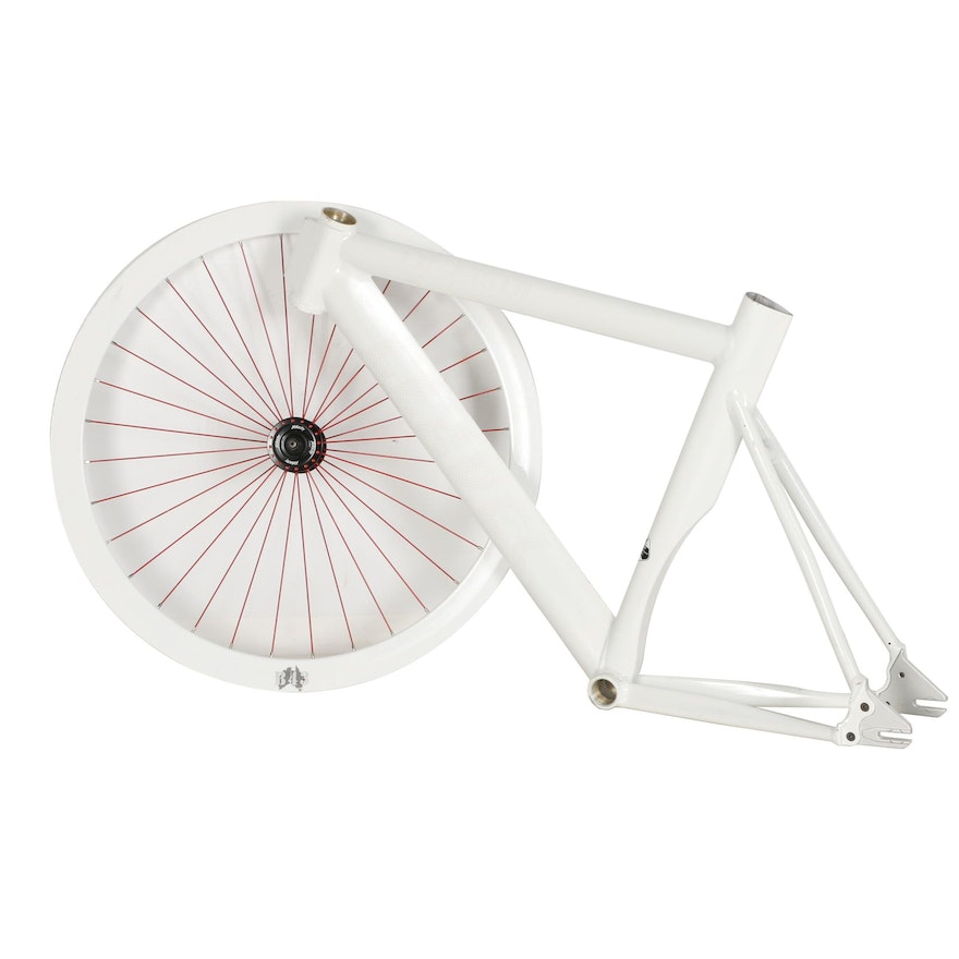 Leader Bicycle Frame and Velocity Wheel : EBTH