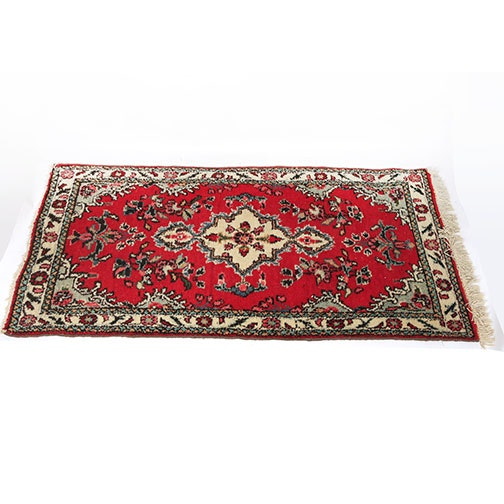 Power Loomed Vintage Persian Style Accent Rug