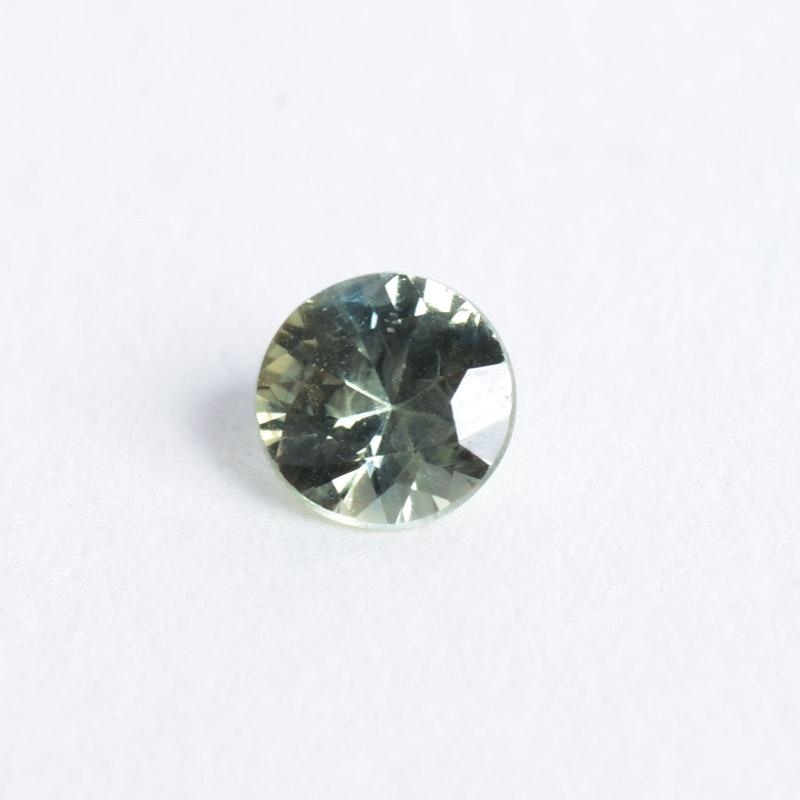 Loose Green Sapphire Gemstone