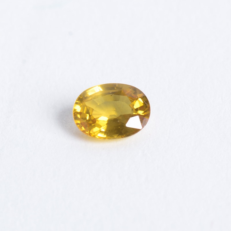 Loose Yellow Sapphire 1.53 CTS