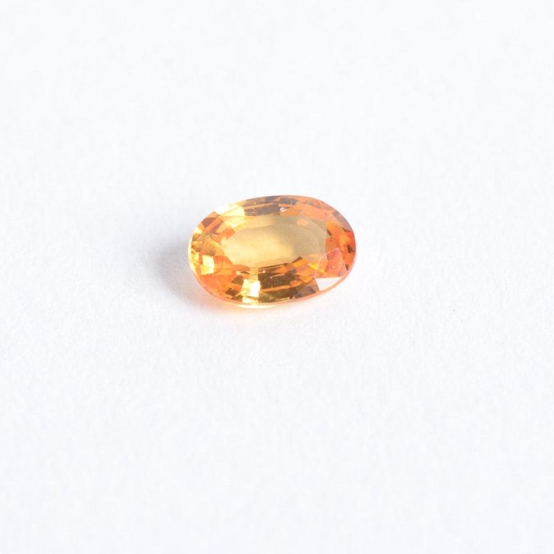 Loose Orange Sapphire