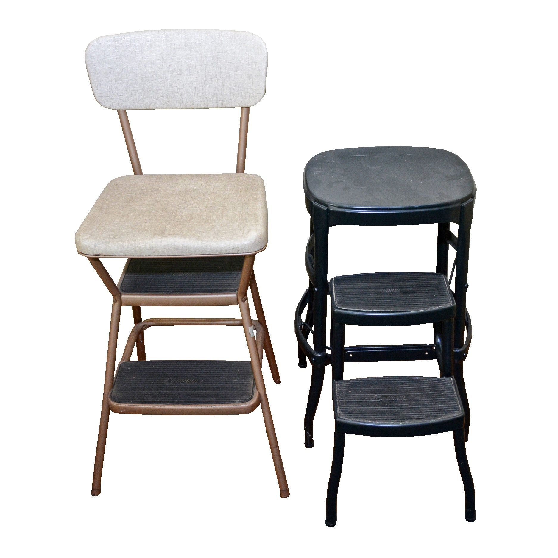 Vintage Cosco Step Stool Chairs ...  sc 1 st  Everything But The House : step stool chairs - islam-shia.org