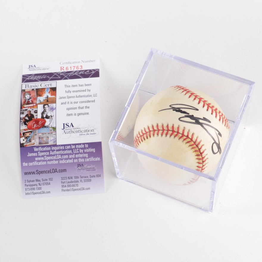 e10fed2ad4d Authenticated Ivan Rodriguez Autographed Baseball   EBTH