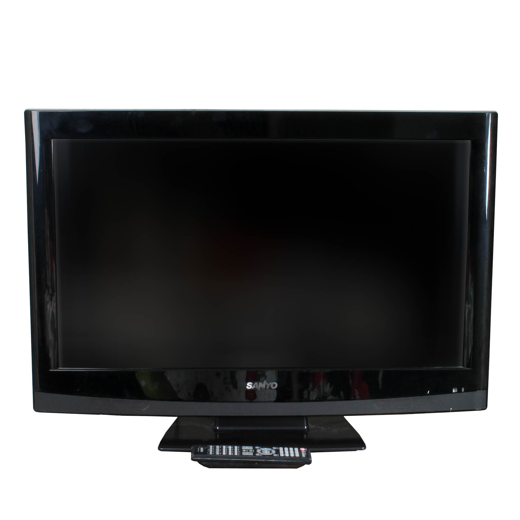 Sanyo LCD Television With Built-In DVD Player