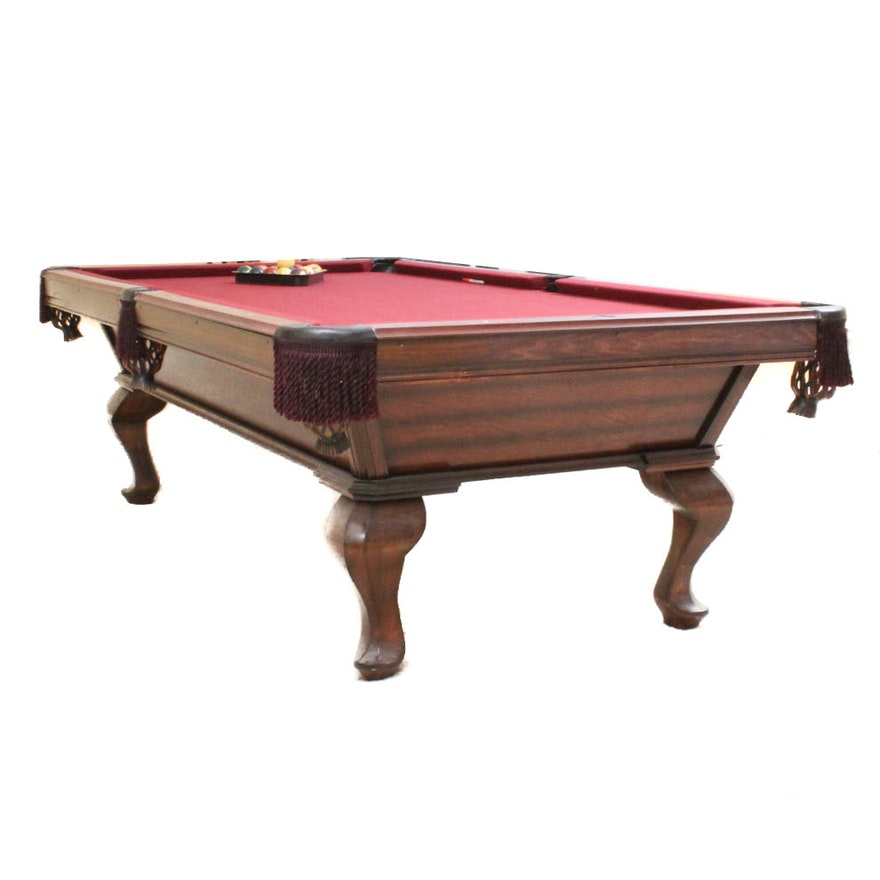 Sterling Billiard Table And Accessories EBTH - Sterling pool table