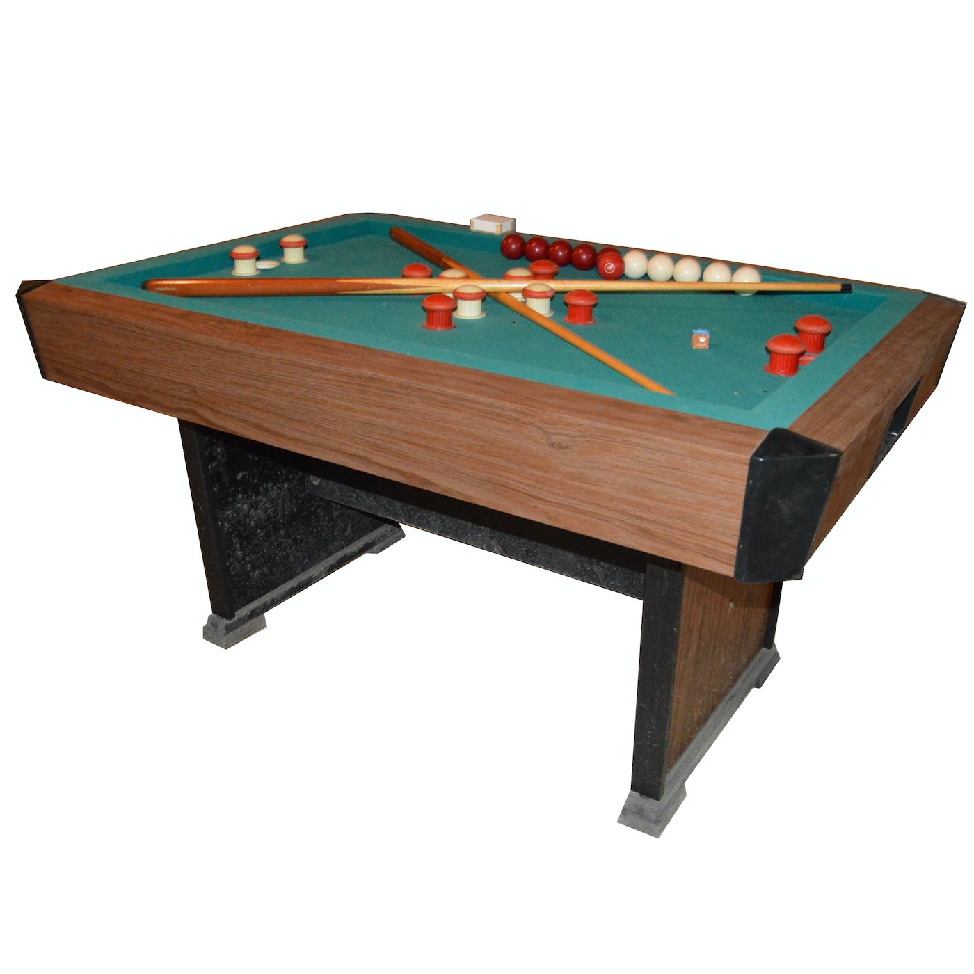 Celebrity bumper pool table by brunswick ebth - Bumper pool bumpers ...