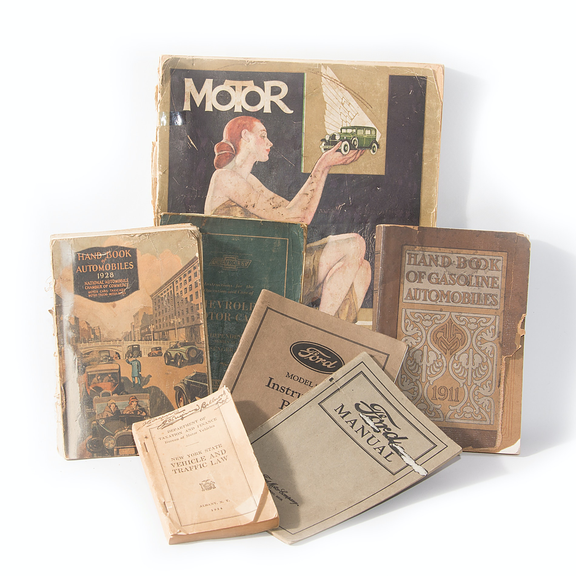 Ford and Other Vintage Automobile Theme Books