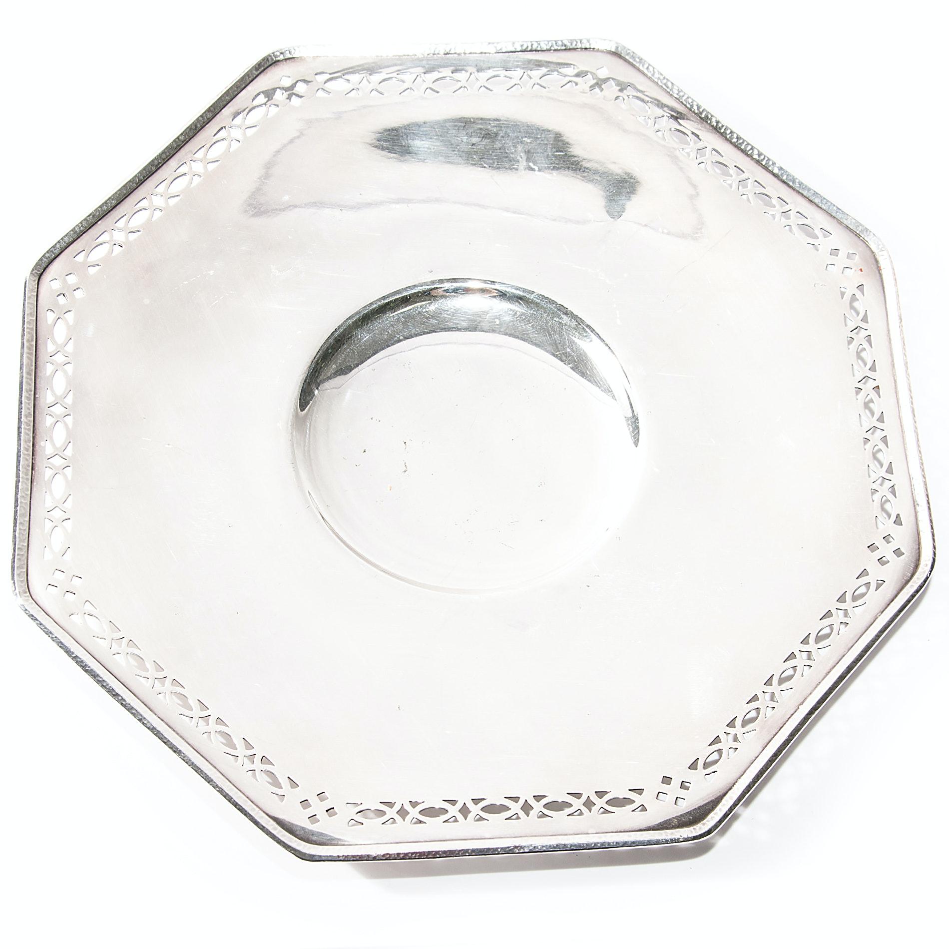 Vintage Meriden Silver Plate Co. Serving Platter