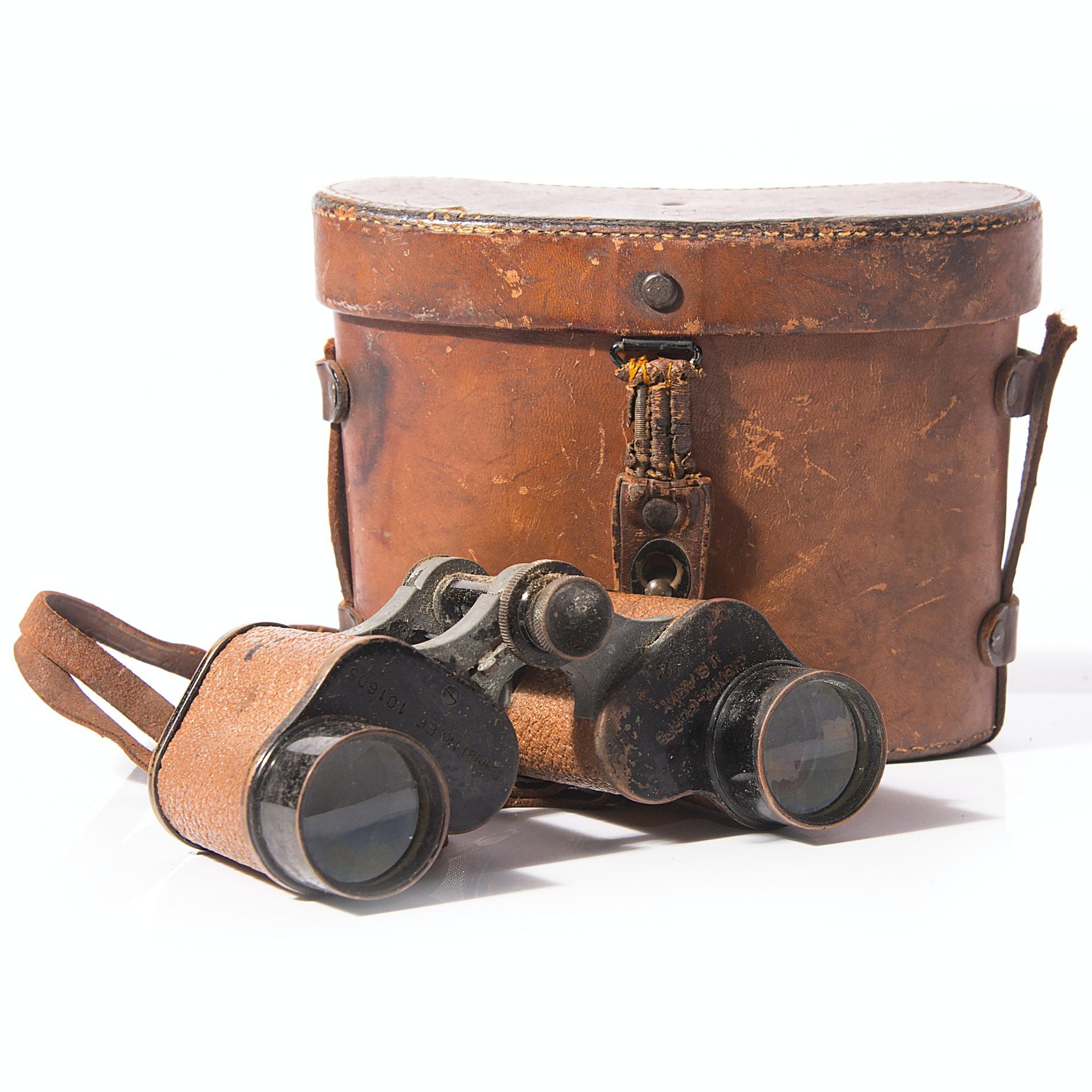 WWI U.S. Army Bausch & Lomb Binoculars