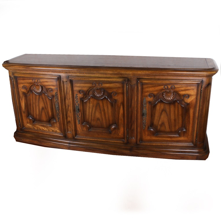 Vintage Oak Sideboard by Century Furniture