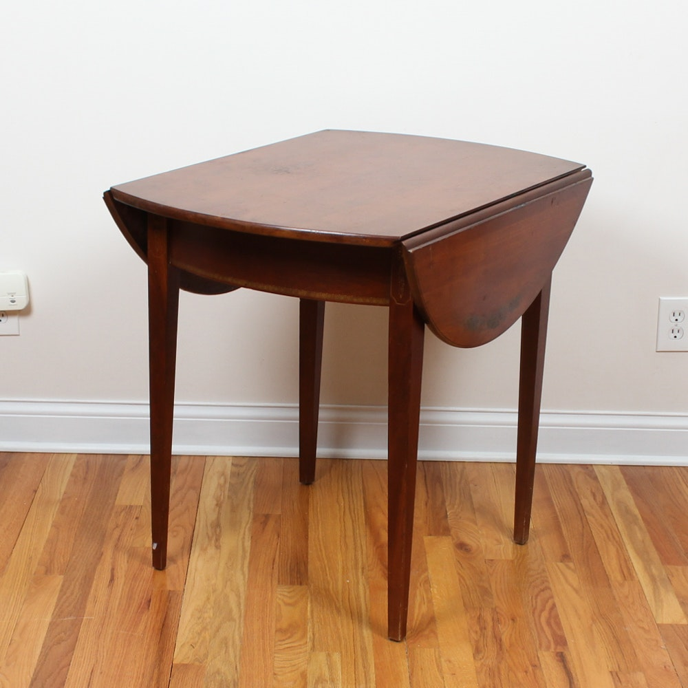 Great Vintage Cherry Drop Leaf Table By Lambert Hitchcock ...