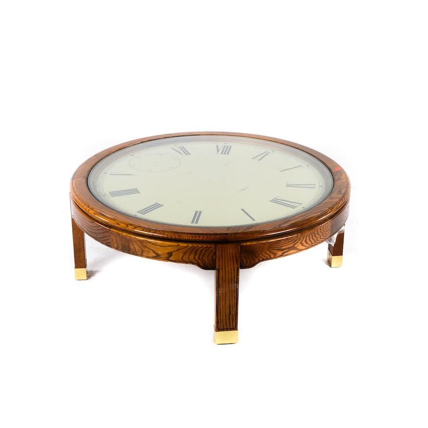 Howard Miller Clock Coffee Table