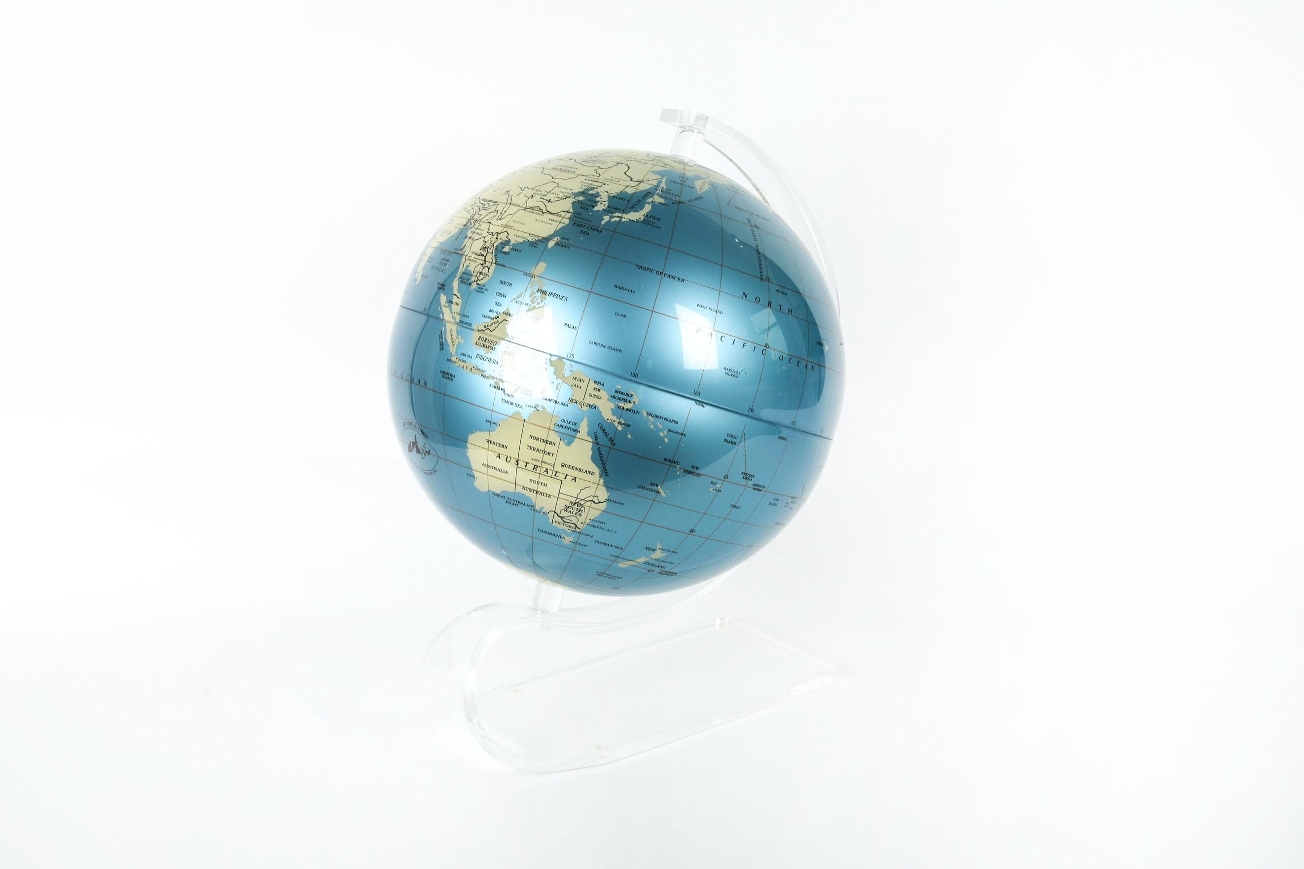 Artline Globe With Acrylic Pedestal Stand