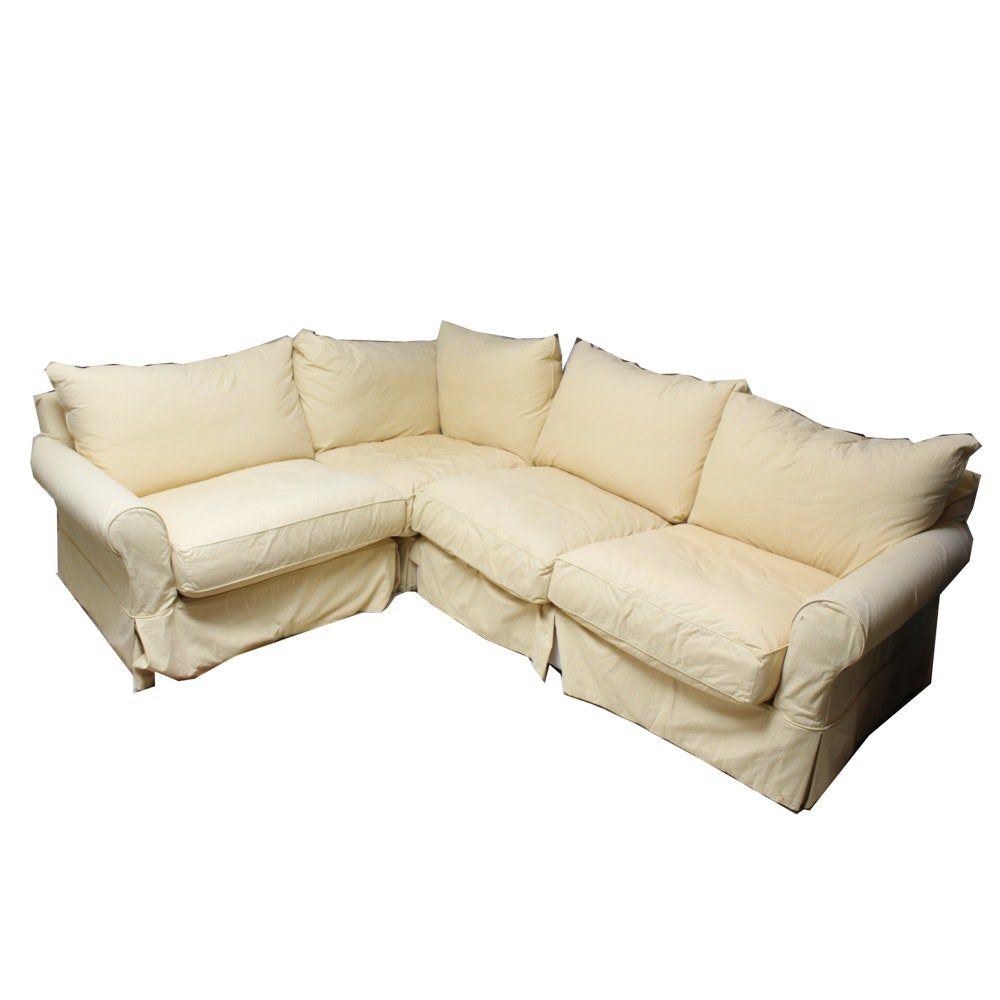 Modern Concepts Sectional With Slip Cover ...