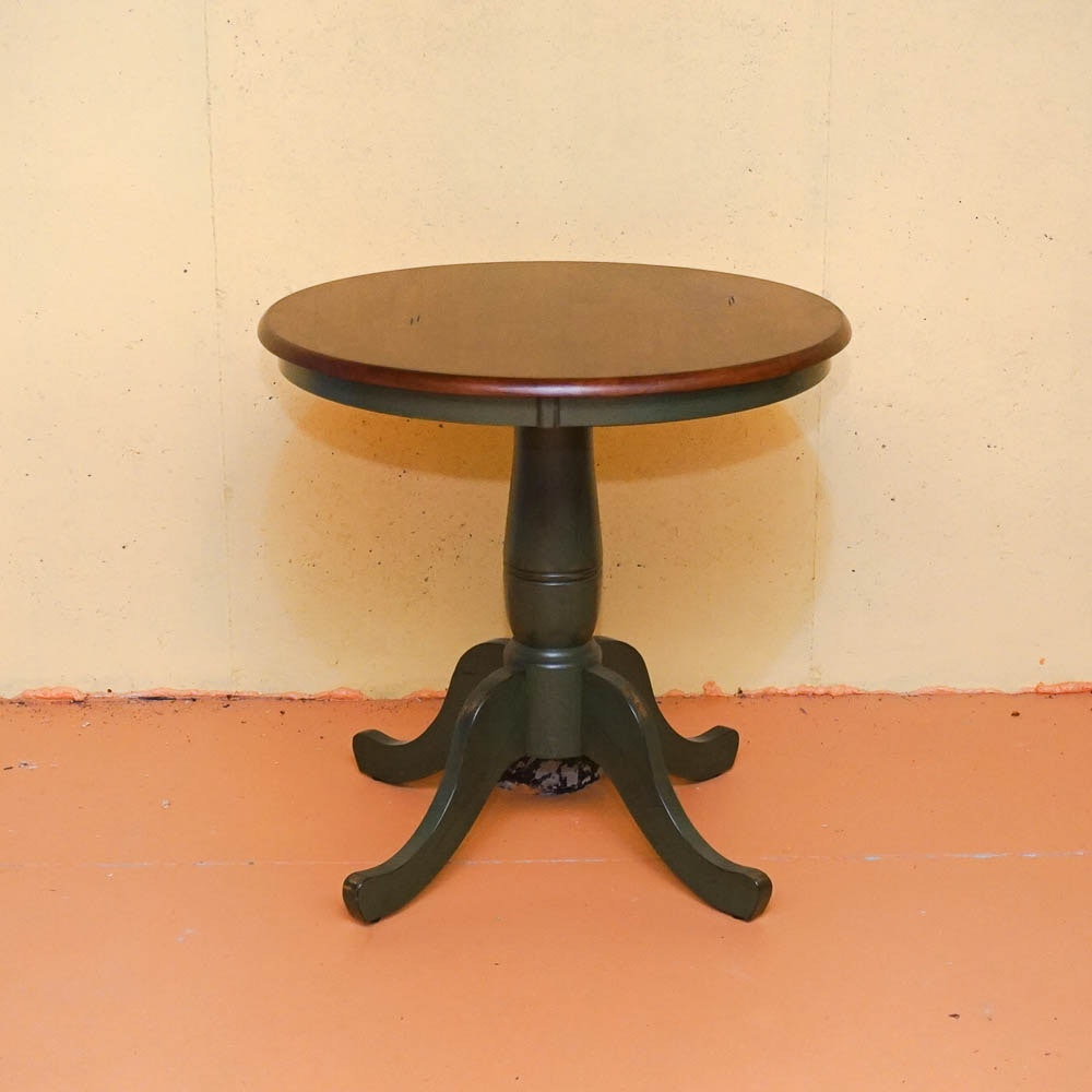 Round Baluster Pedestal Table By Pier 1 Imports ...