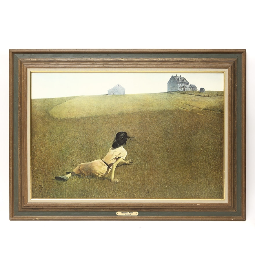After Andrew Wyeth Print Quot Christina S World Quot Ebth