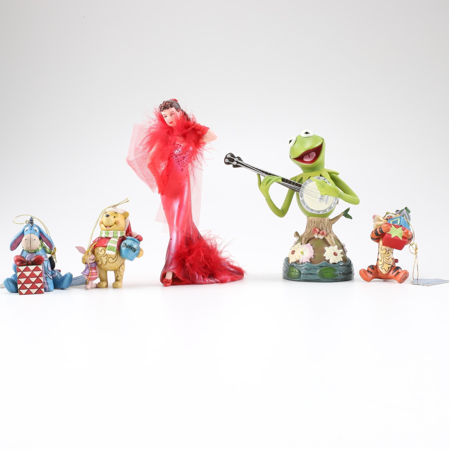 Collection of Enesco Figurines