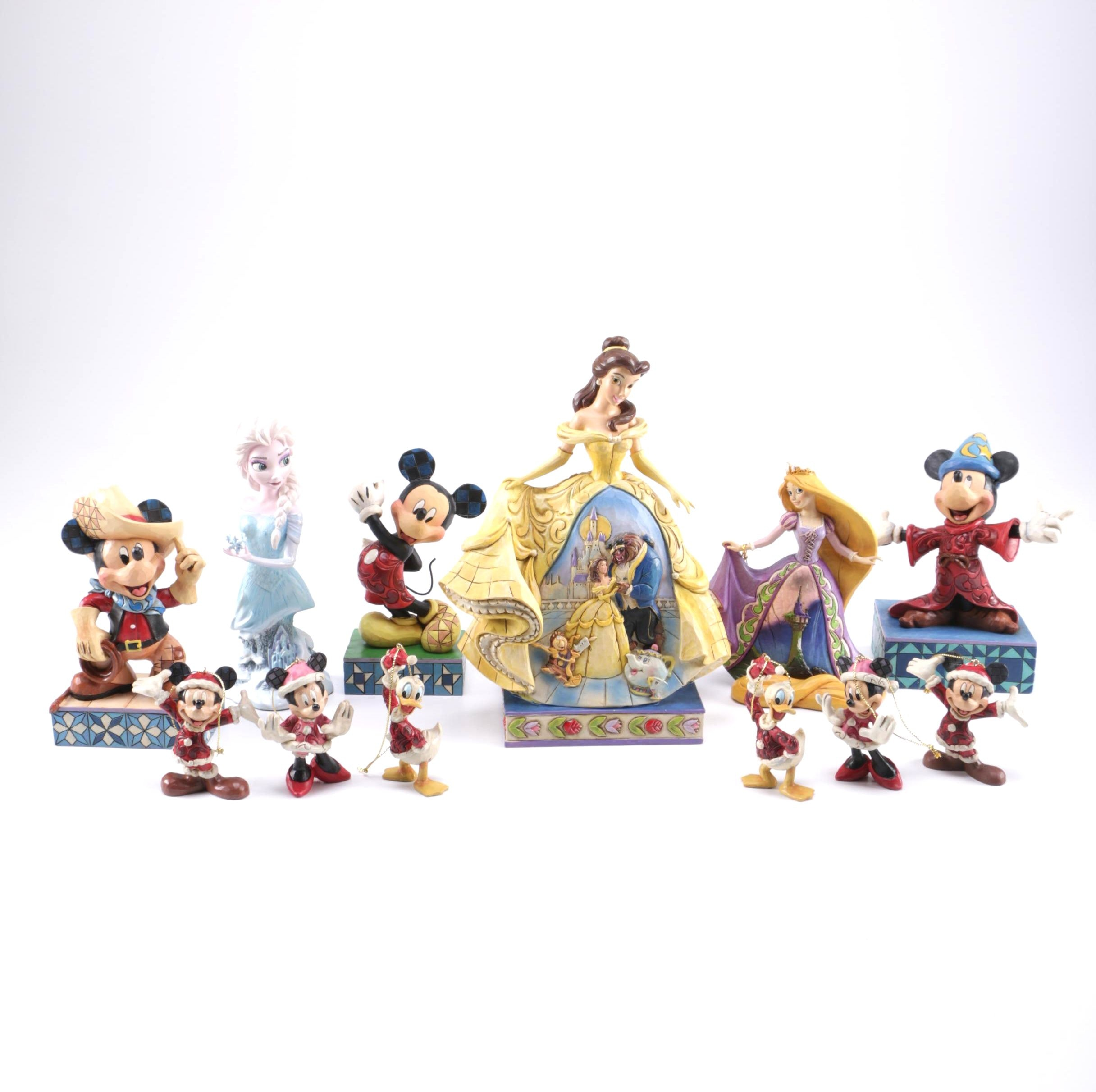 Collection of Disney Showcase Figurines