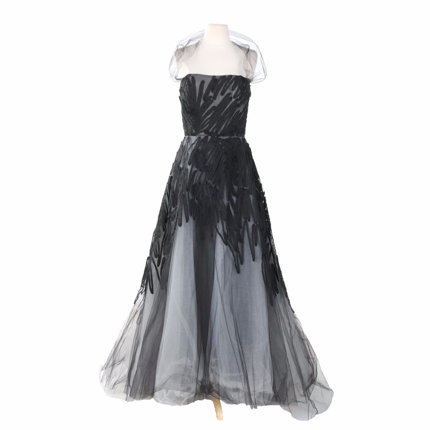Monique Lhuillier Evening Gown : EBTH