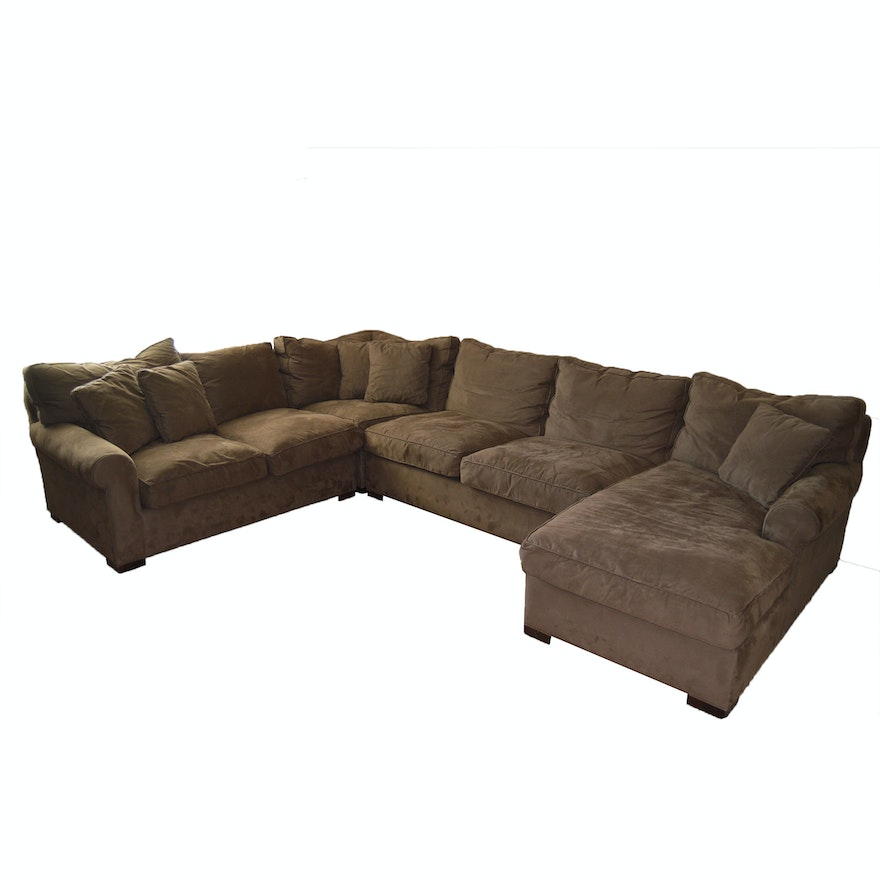 Amazing Microfiber Sectional Sofa By Room Board Pabps2019 Chair Design Images Pabps2019Com