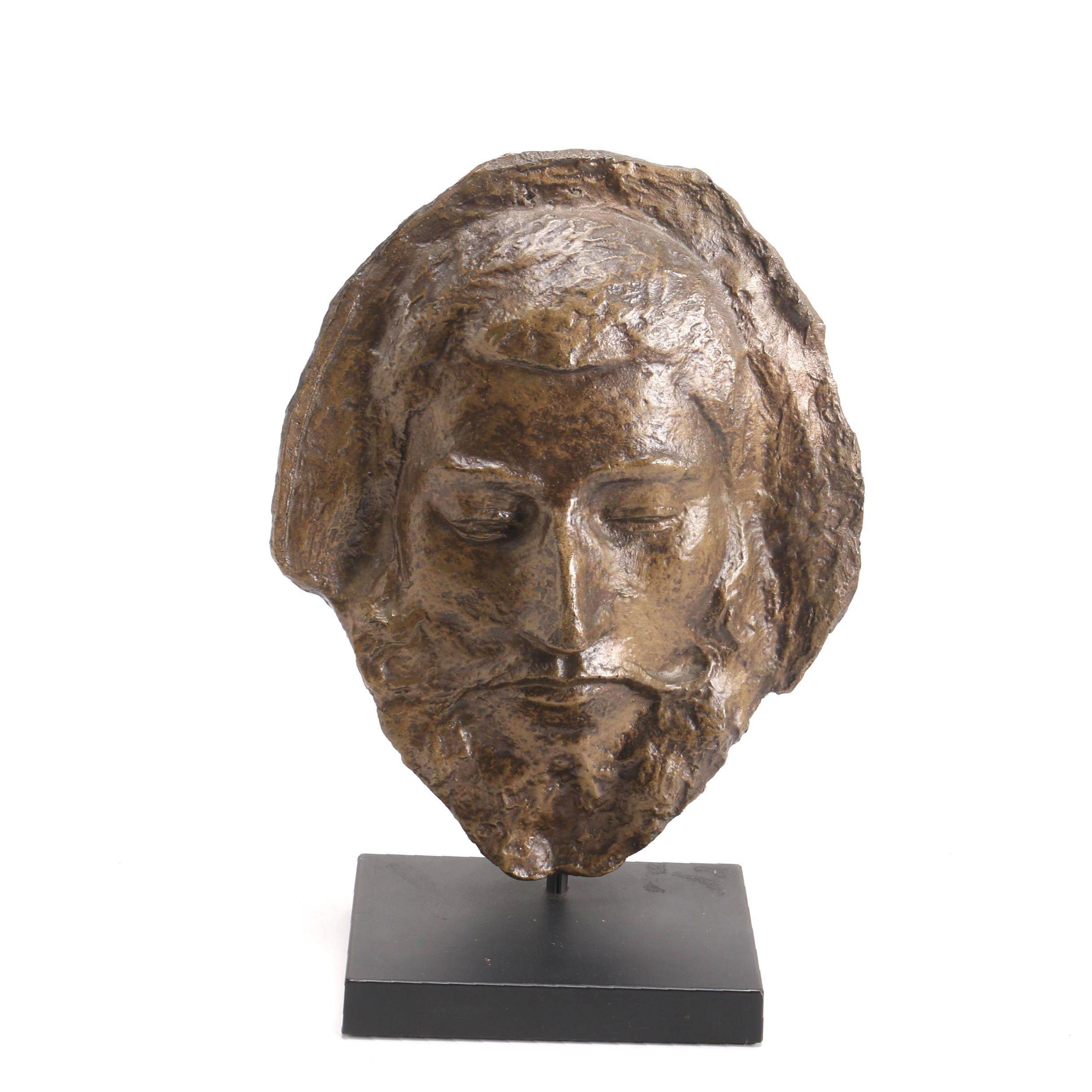 Ceramic Sculpture of Male Face