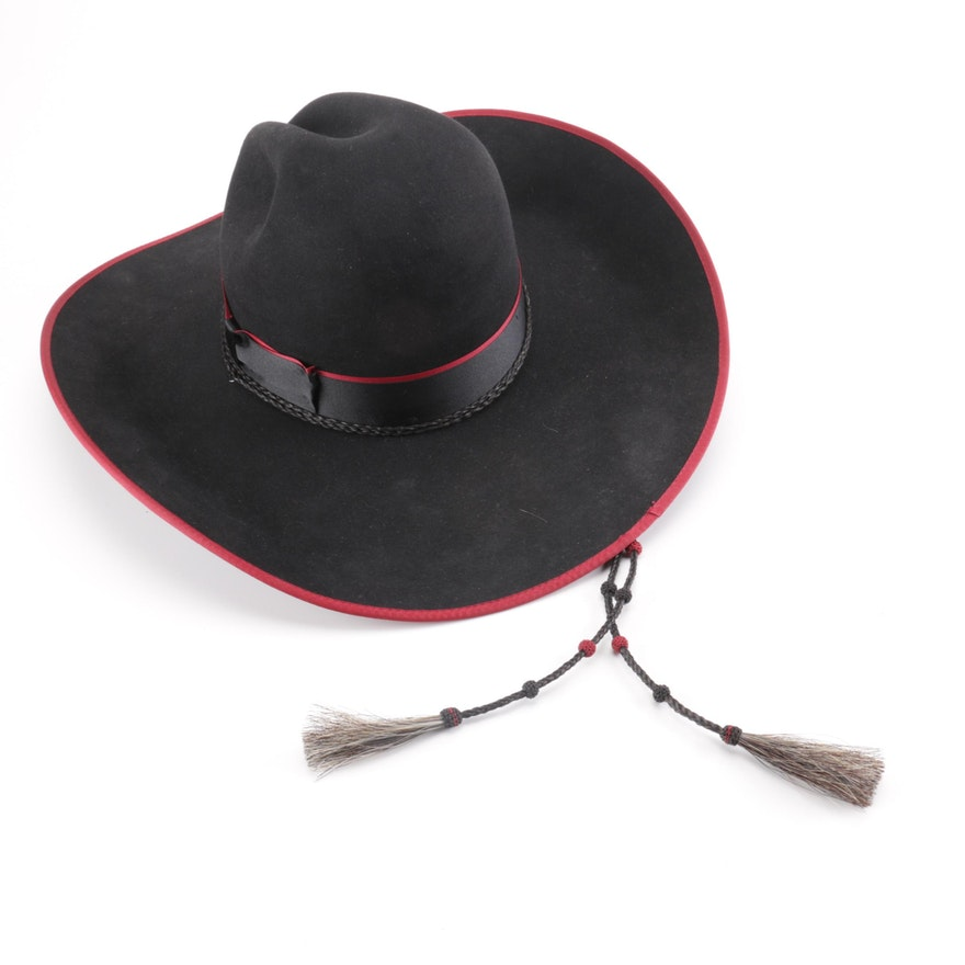 Beaver Brand Western-Style Hat   EBTH f0d6af0427a