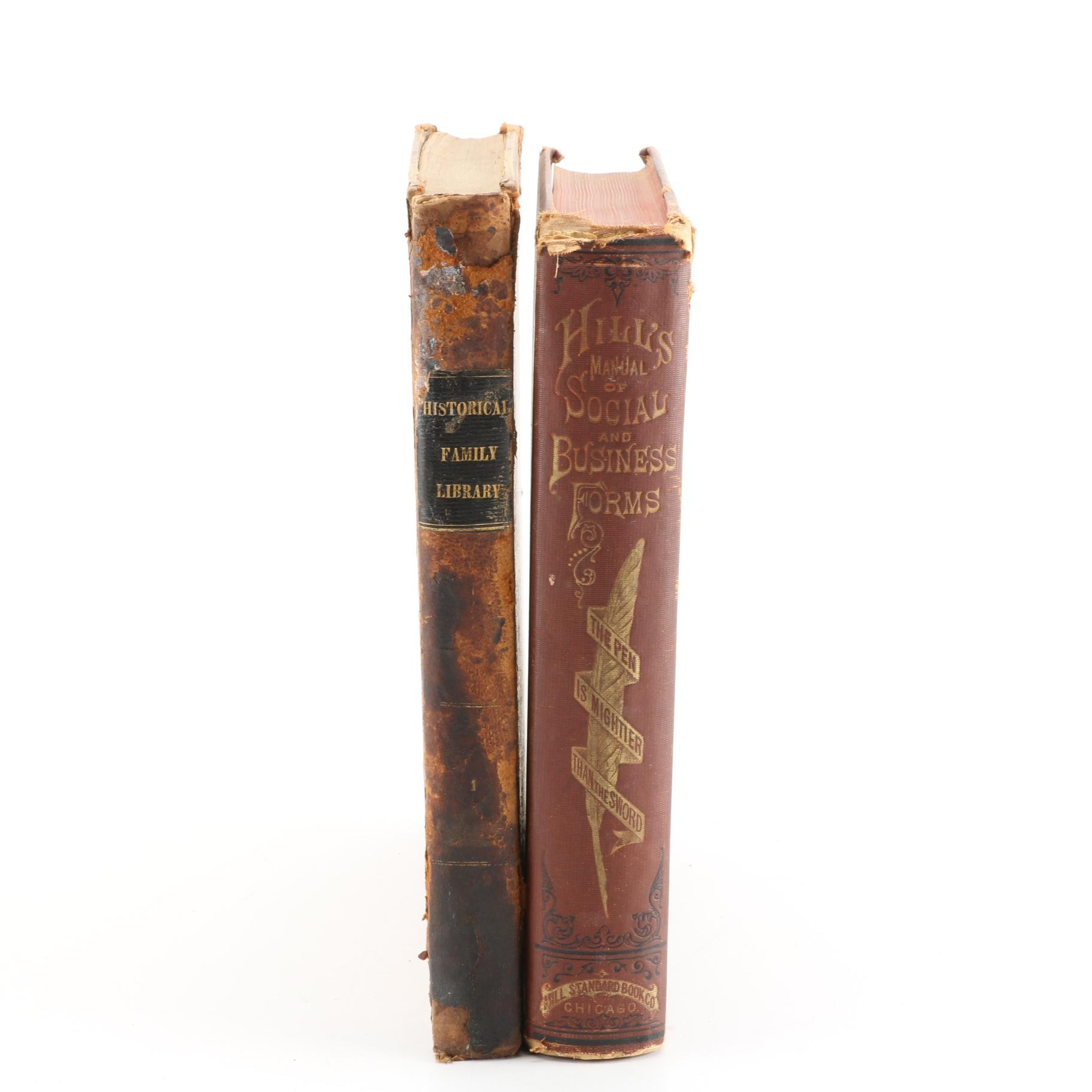 Antique History and Manual Books