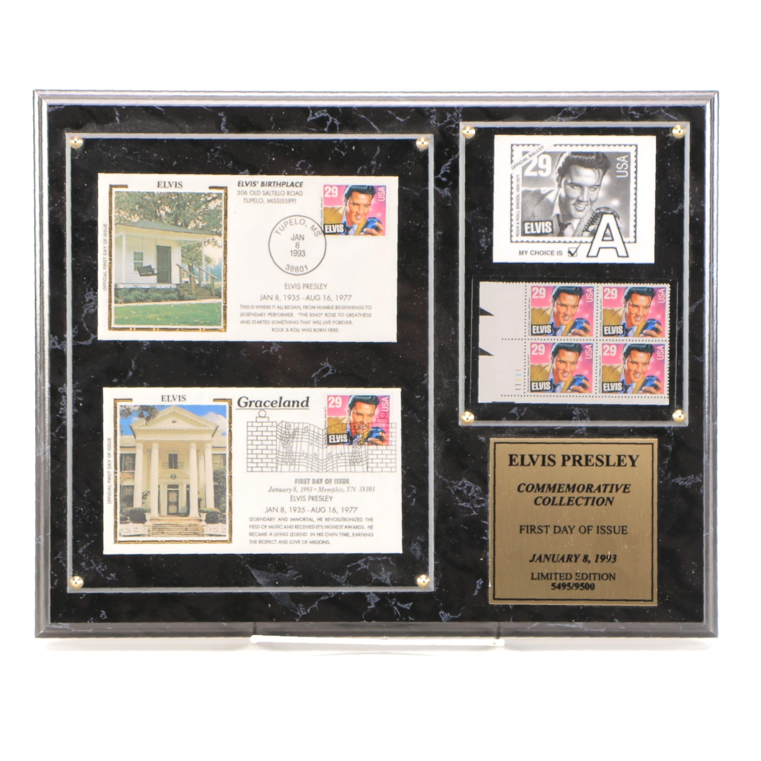 Elvis Presley Limited Edition Commemorative Collection