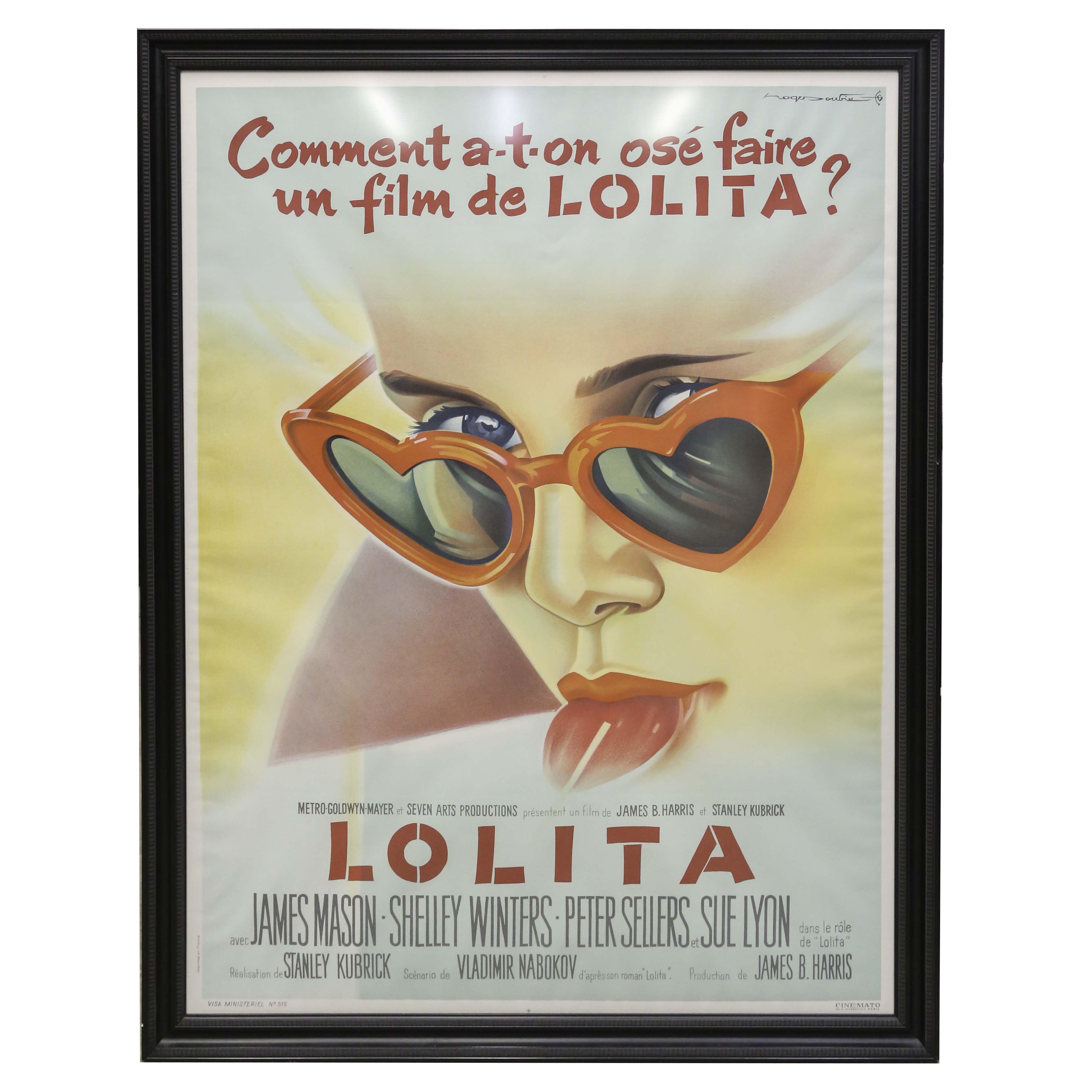"""Lolita"" French Advertising Poster"