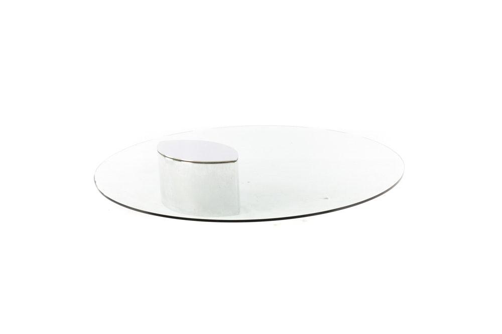 "Mid Century Modern ""Lunario"" Coffee Table by Cini Boeri for Knoll"