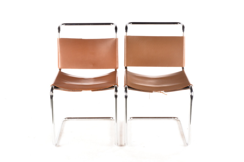 """Spoleto"" Chairs by Knoll"