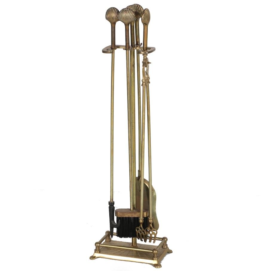 Brass Fireplace Tools ... - Brass Fireplace Tools : EBTH